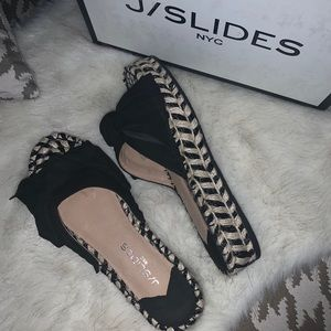 NEW⭐️ J/Slides NYC  size 7 Sandals Slippers